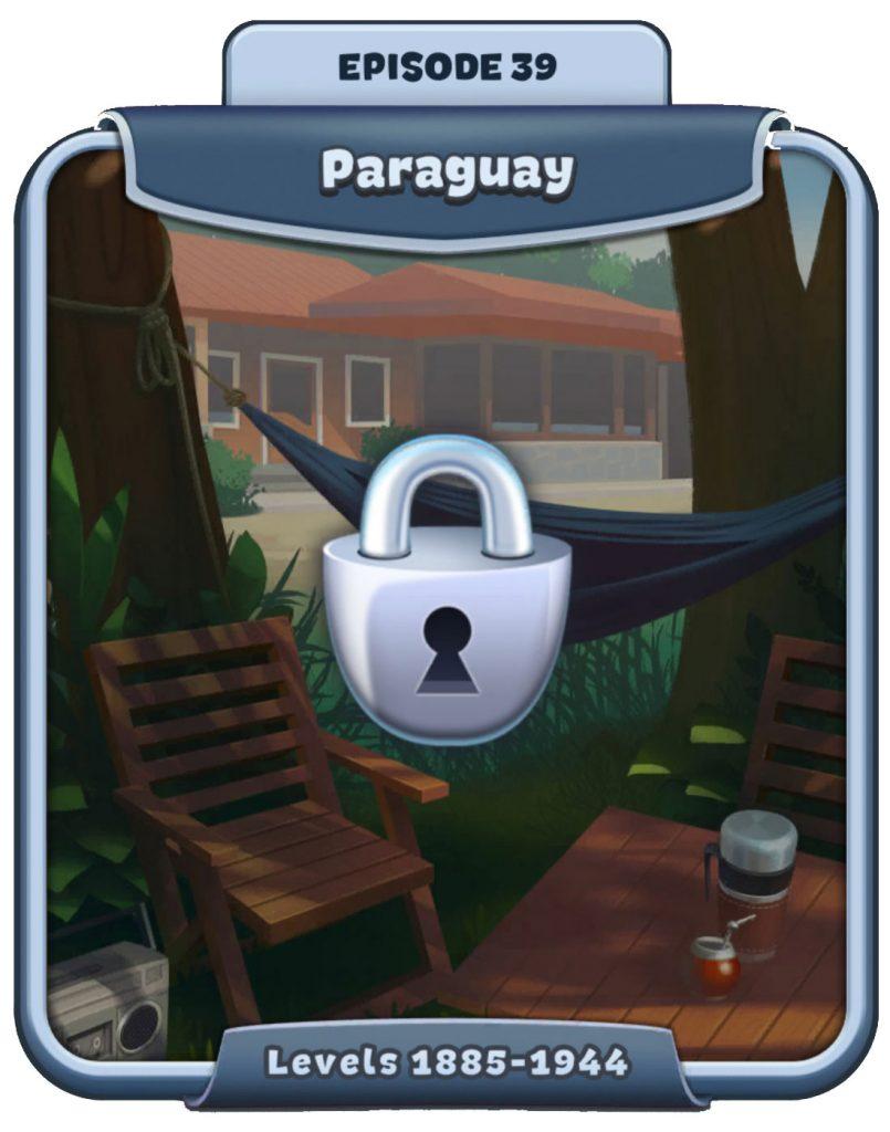 Word Craze - Episode 39 - Paraguay - Levels 1885 - 1944